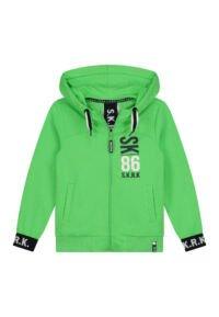 felgroene hoodie