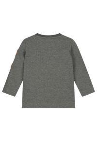 grijs t-shirt lange mouwen jongens peuter babykleding