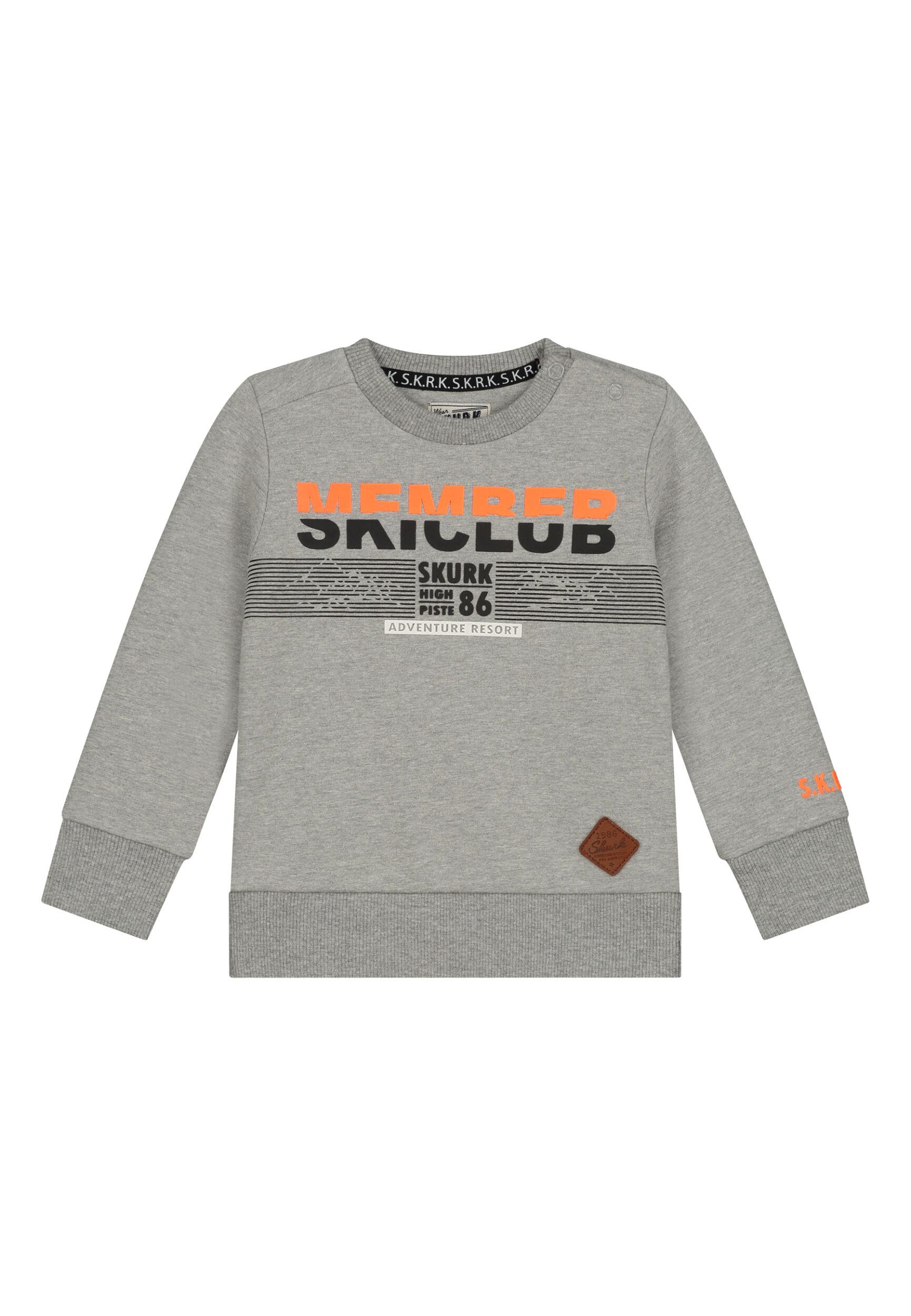 grijze sweater jongens baby peuterkleding
