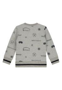 grijze sweater baby peuterkleding