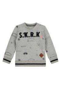 grijze sweater baby peuter kleding merk