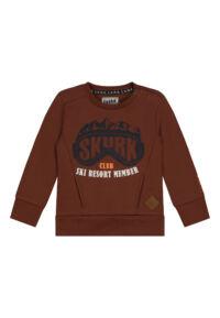 cognac sweater jongens baby peuterkleding