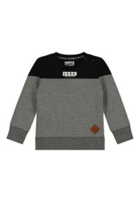 grijs zwarte sweater peuter babykleding