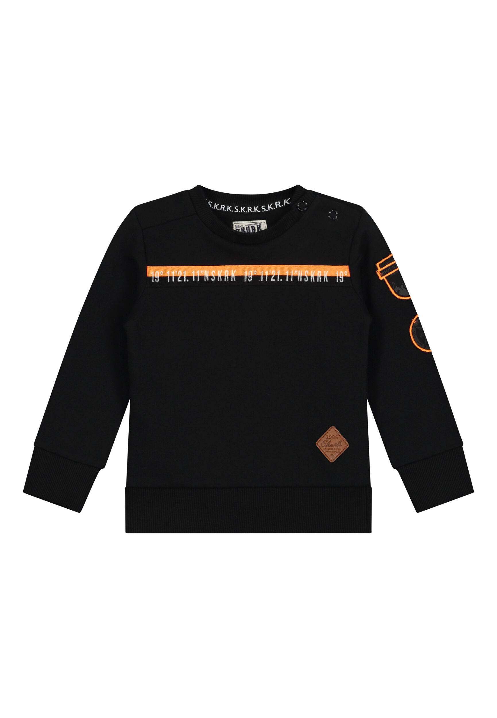 zwarte sweater jongens peuter babykleding