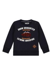 donkerblauwe sweater peuter babykleding