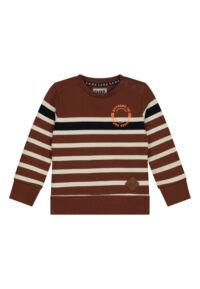 cognac sweater mini boys