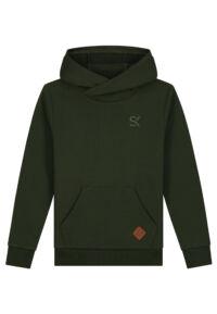 donker groene hoodie jongens kinderkleding