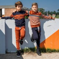 donkerblauwe broek jongens kinderkleding