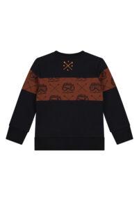 donkerblauwe sweater SKURK jongenskleding merk